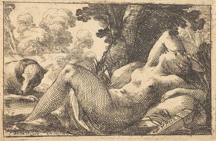 Laurent de La Hyre, 'Diana Recumbent', 1620s
