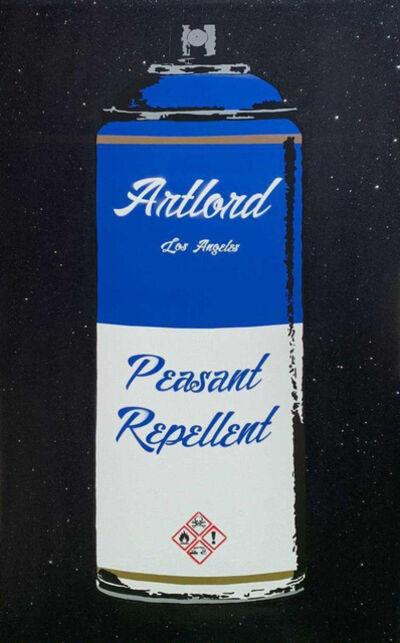 Artlord, 'Peasant Repellent (Blue)', 2021