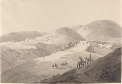 Thomas Daniell, 'View of the Governor's House in St. Helena', 1794