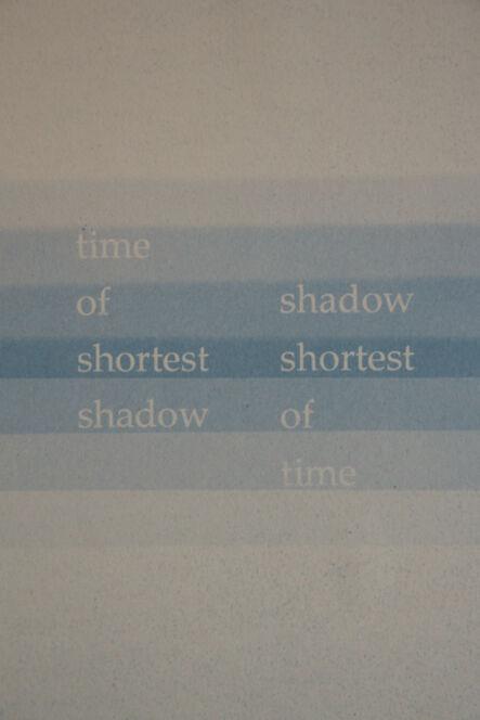 François Bucher, 'The shortest shadow', 2016