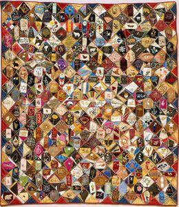 Victoriene P. Mitchell, 'Crazy Quilt', 1883-1893