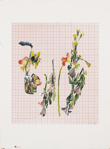 Santi Moix, 'Flowers for Watanabe 21', 2017
