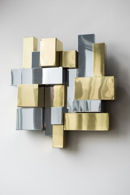 Paul Evans (1931-1987), 'Cityscape Wall Mounted Sculpture,', 1975