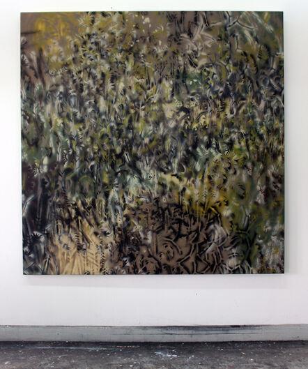 Bo Christian Larsson, 'Camouflaged Executive Gate', 2017