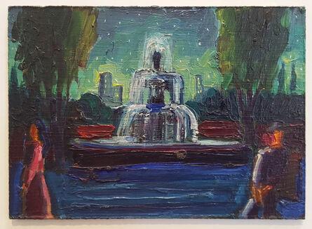 Carlos Almaraz, 'City Fountain', 1987