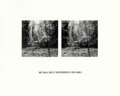 Susan Silton, 'We Will See It Differently, You and I', 2020