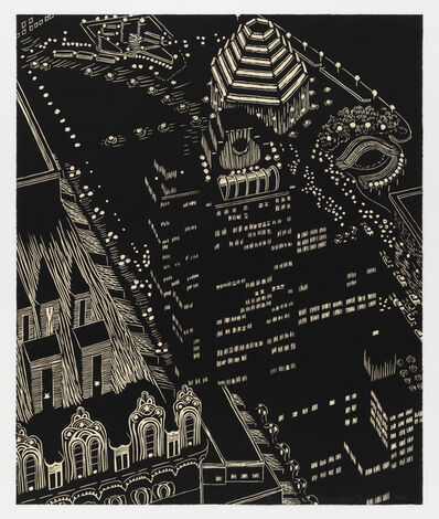Yvonne Jacquette, 'Mixed Heights', 2002