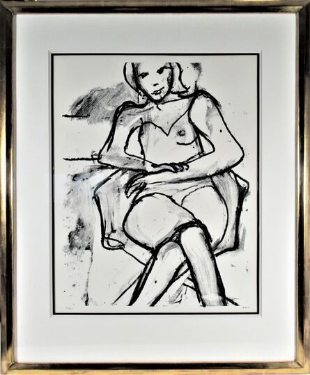 Richard Diebenkorn, 'Seated Woman (With Legs and Arms Crossed)', 1965