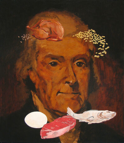 Adam Mysock, 'Jefferson's Meat, Poultry, Fish, Dried Beans, Eggs, and Nuts', 2009