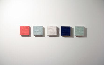 Masayuki Tsubota, 'the wall of self_vigginhi5', 2015
