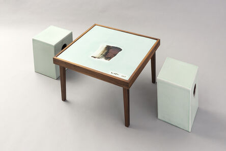 Lee Ufan, 'Ceramic table and chairs', 2003-2015