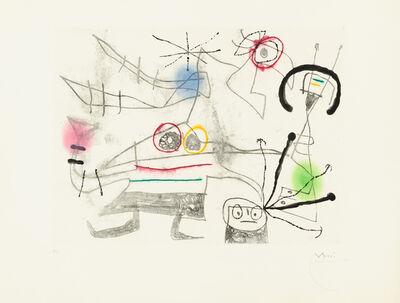Joan Miró, 'Femme-Oiseau II', 1960