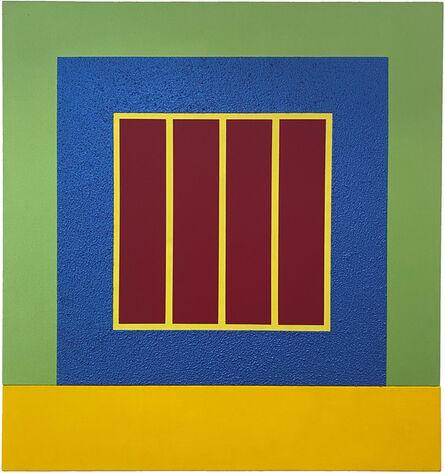 Peter Halley, 'Blue Prison', 2002