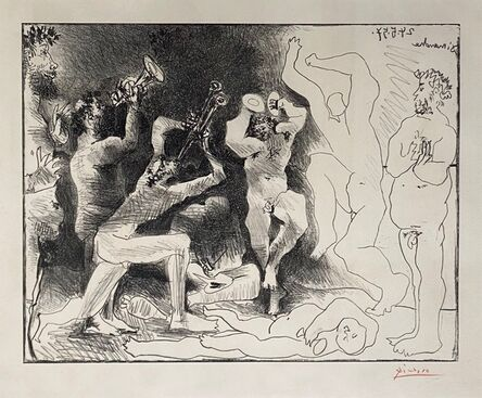 Pablo Picasso, 'La Danse des Faunes', 1968