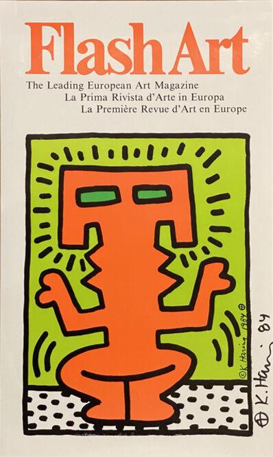Keith Haring, 'Flash Art: The Leading European Magazine', 1984