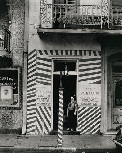 Walker Evans, 'Sidewalk and Shopfront, New Orleans', 1935