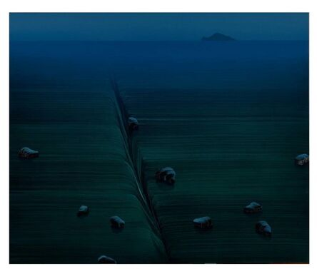Wan-Shih Lin, '暮光之晨 Aura of the morning', 2015