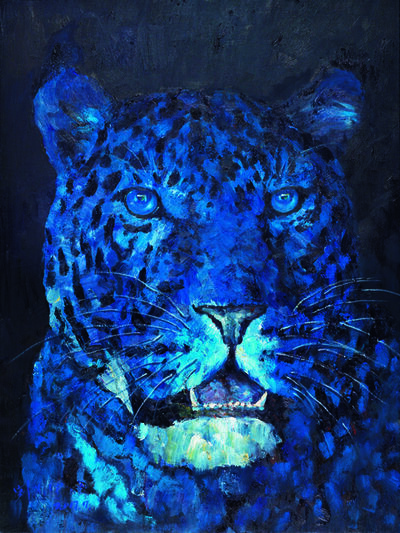 Liu Ruowang, 'Head of a Leopard', 2017