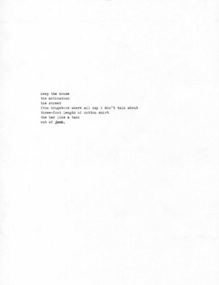 R. Luke DuBois, 'Junkie, No. 22', 2014