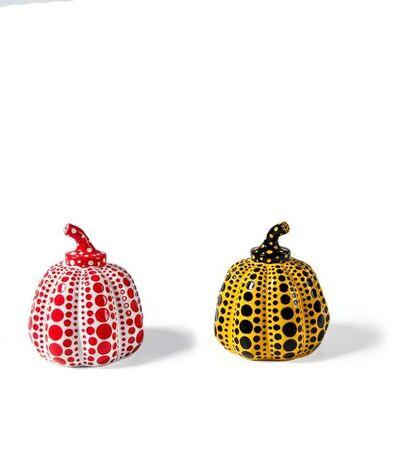 Yayoi Kusama, 'Pumpkin Object (White) & Pumpkin Object (Yellow)', 2016
