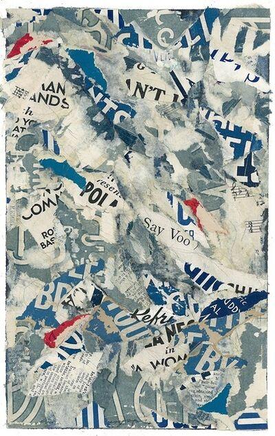 Susan Reedy, 'Urban Narrative (Blue)', 2015