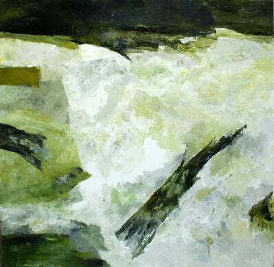 Ram Kumar, 'Untitled Abstract 3 (Green Medley)', 2006