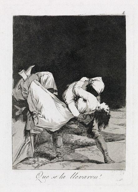 Francisco de Goya, 'Que se la Llevaron!', ca. 1799