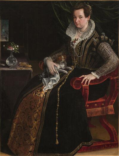 Lavinia Fontana, 'Portrait of Costanza Alidosi', ca. 1595