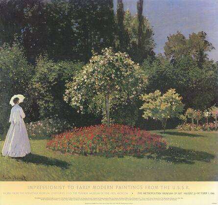 Claude Monet, 'Woman in a Garden', 1986