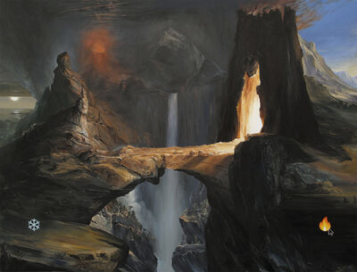 Paco Pomet, 'Choosing Hell (after Thomas Cole)', 2018