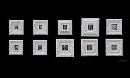Liu Wei 刘炜 (b. 1965), '180 Faces', 2017-2018