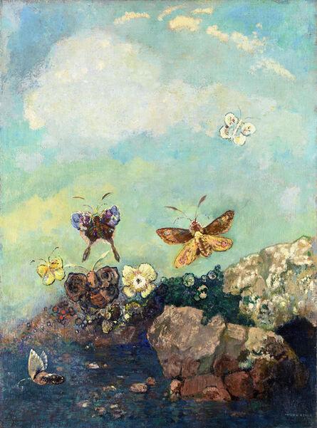 Odilon Redon, 'Papillons (Butterflies)', ca. 1910