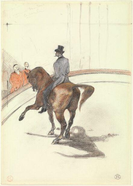 Henri de Toulouse-Lautrec, 'At the Circus: The Spanish Walk (Au Cirque: Le Pas espagnol)', 1899