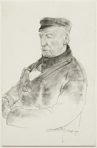 Willem van den Berg, 'Volendammer (Jan Jonk)', 1941