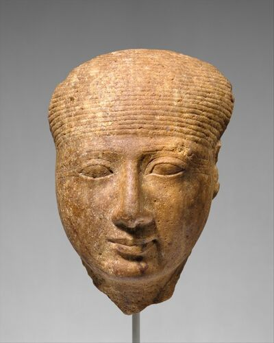 Unknown Egyptian, 'Head of a goddess', ca. 1295–1270 B.C.