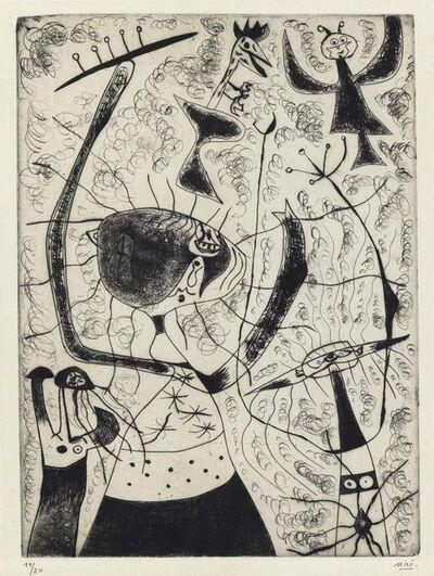 Joan Miró, 'Les trois soeurs', 1938
