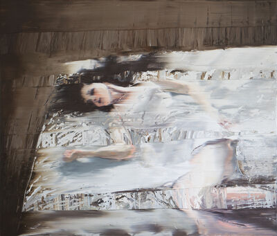 Andy Denzler, 'White Dressed Girl', 2016