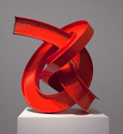 James Angus, 'Red I-beam Knot', 2012