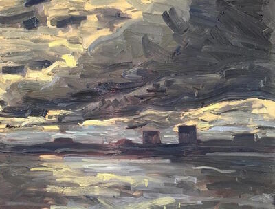 Benjamin Lussier, 'The Long, Long Skies Over New Jersey', 2016