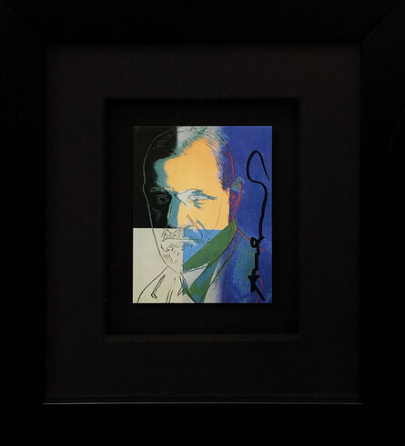 Andy Warhol, 'SIGMUND FREUD INVITATION', 1980