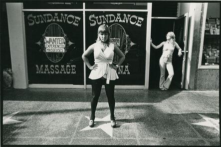 Ave Pildas, 'Sundance Massage. Hollywood', 1974