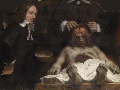 Rembrandt van Rijn, 'The Anatomy Lesson of Dr Joan Deyman', 1656