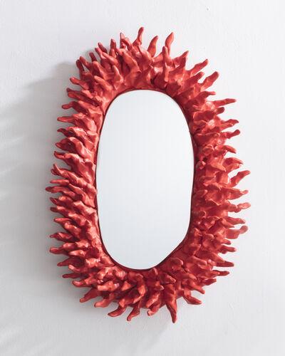 Katie Stout, 'Spiky Wall Mirror', 2017