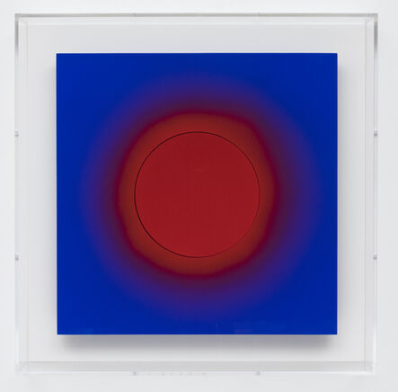 Lita Albuquerque, 'Red on Red on Blue', 2005
