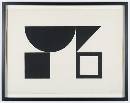 Jeffrey Steele, 'Geometric Composition #3', 1960