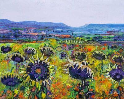 Ulpiano Carrasco, 'Ripe Sunflowers', 2021