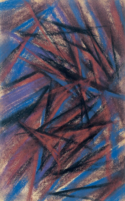 Mikhail Fedorovich Larionov, 'Rayonist composition', 1912-1914