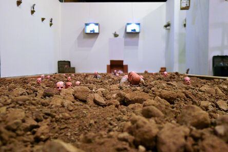 Isaac Cordal, 'Follow the Leaders', 2013