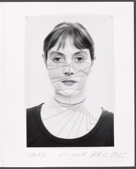 Annegret Soltau, 'Selbst 4 [Self 4]', 1975