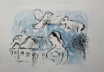Marc Chagall, 'Le Village', 1977